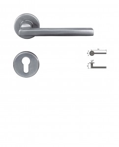 ASI 8046 SS Lever Handle