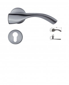 ASI 9162 SS Lever Handle